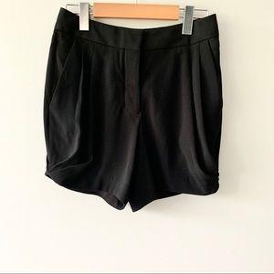 Aritzia Wilfred High-waist Black Dress Short
